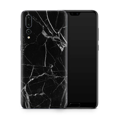Black Hyper Marble Skin Huawei P20 Pro and P30 Pro