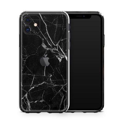 iPhone 11 Black Marble Case