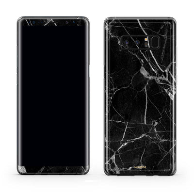 Black Marble Note 8 Case