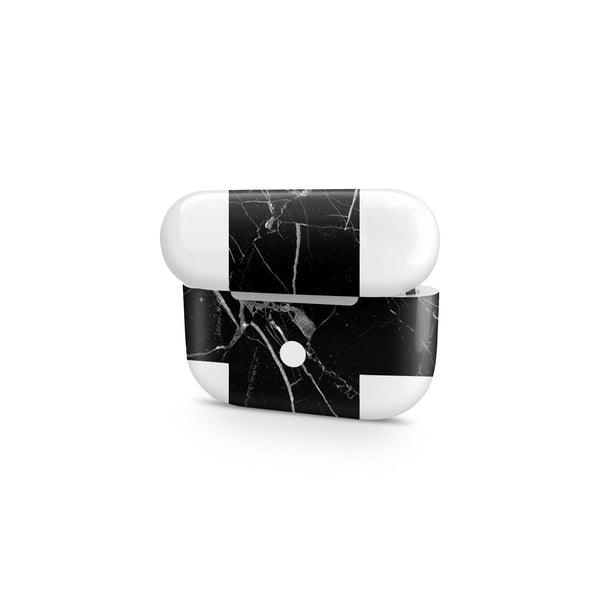 Hyper Black Marble AirPods Pro Cover