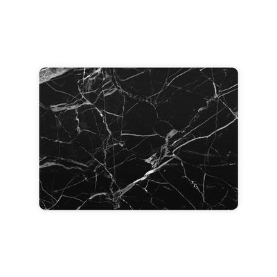 Black Hyper Marble Magic Trackpad 2 Top and Bottom Skin