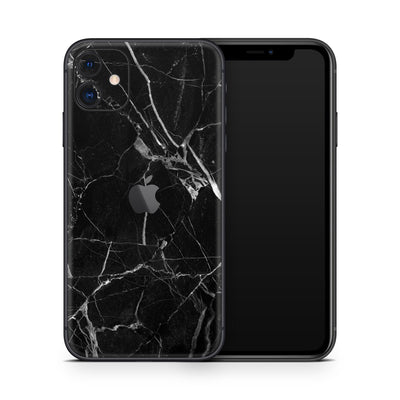 Black Marble iPhone 11 Cover