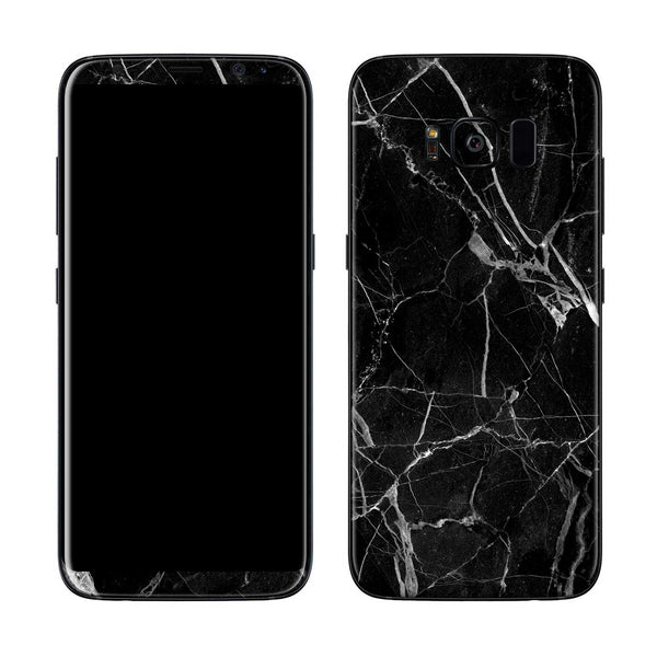 Black Hyper Marble Skin for Samsung S8 and S8 Plus