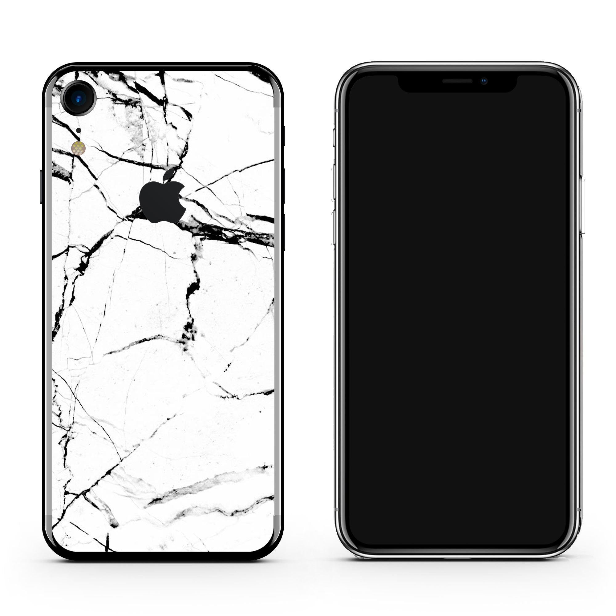 White Marble iPhone XR