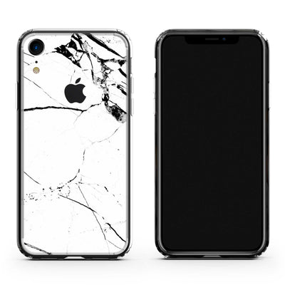 iPhone XR White Marble Case