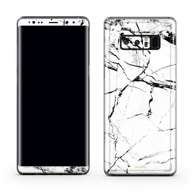 White Marble Note 8 Case