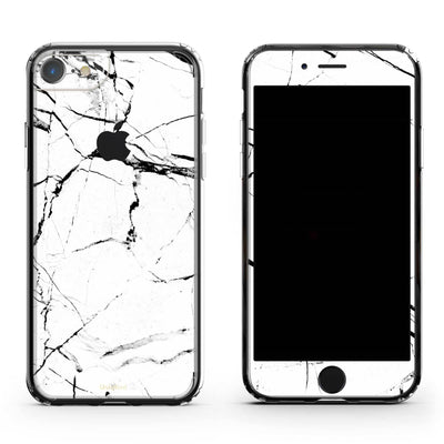 White Marble iPhone 8 Plus