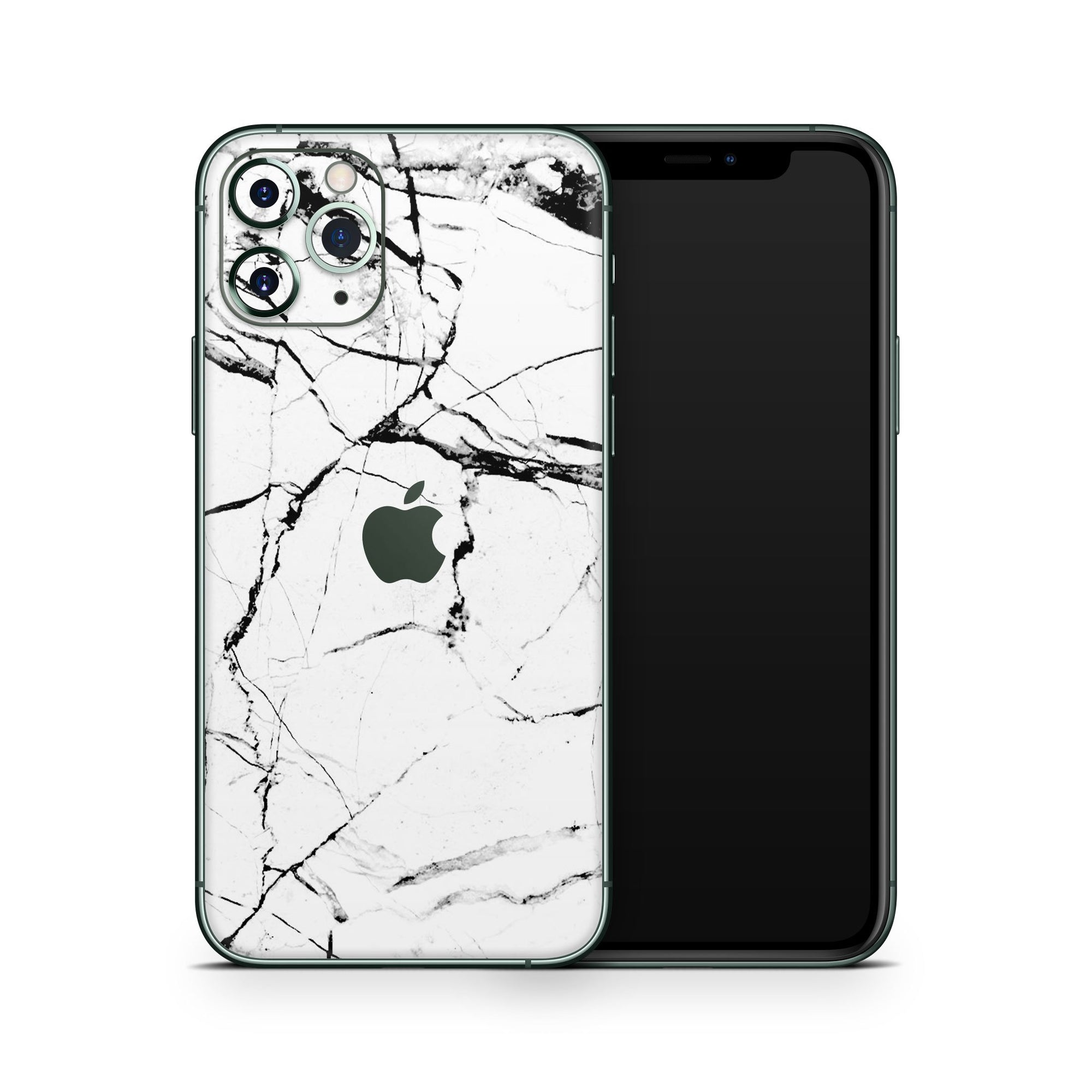 White Marble iPhone Decal