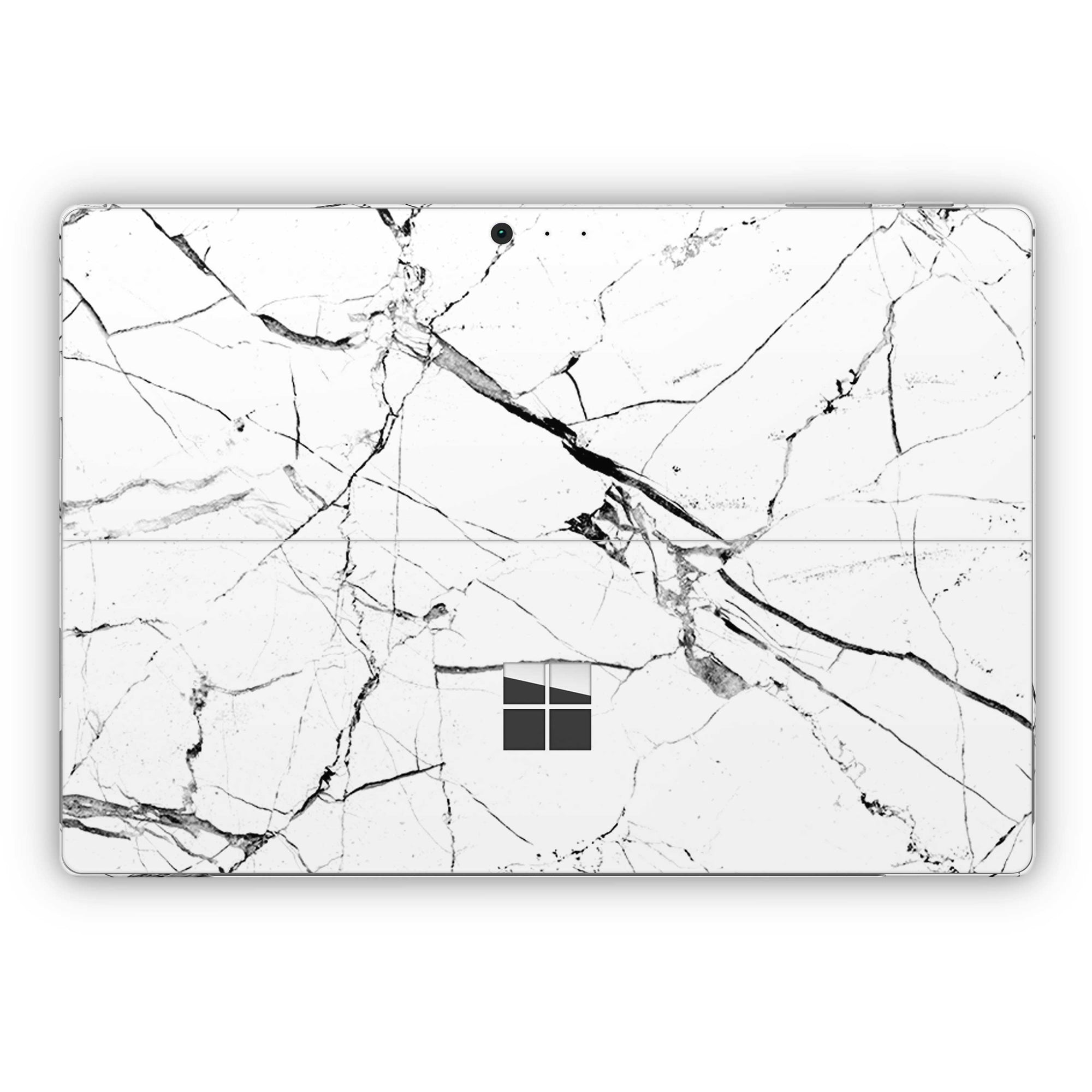 White Hyper Marble Surface Pro 5 and Surface Pro 6 Skin