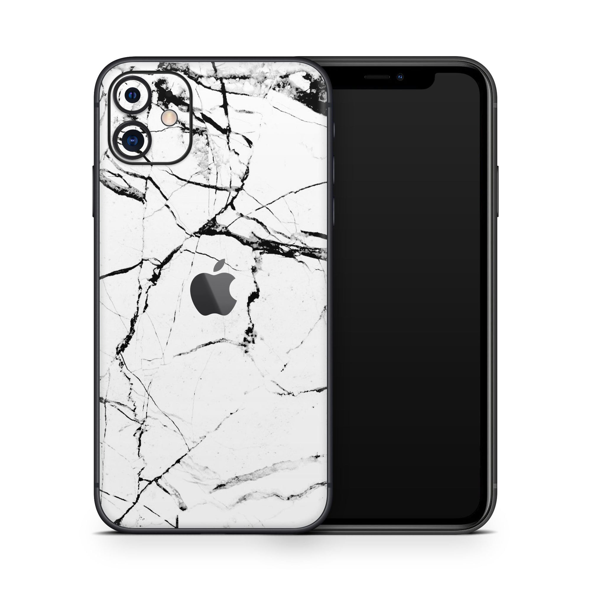 White Marble iPhone 11 Cover