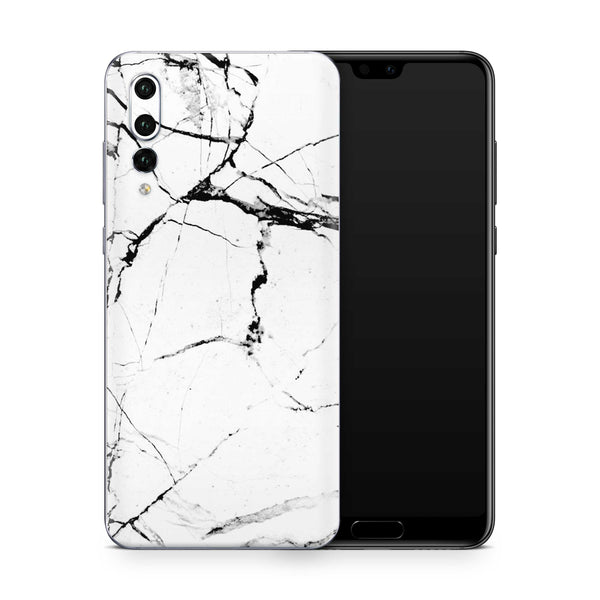White Hyper Marble Skin Huawei P20 Pro and P30 Pro
