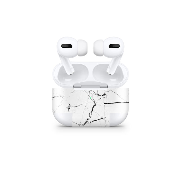 Hyper White Marble AirPods Cover