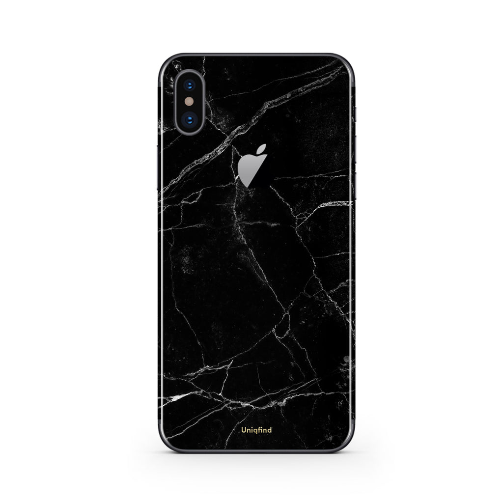 best service 99a03 d5287 Black Marble iPhone Skin + Case