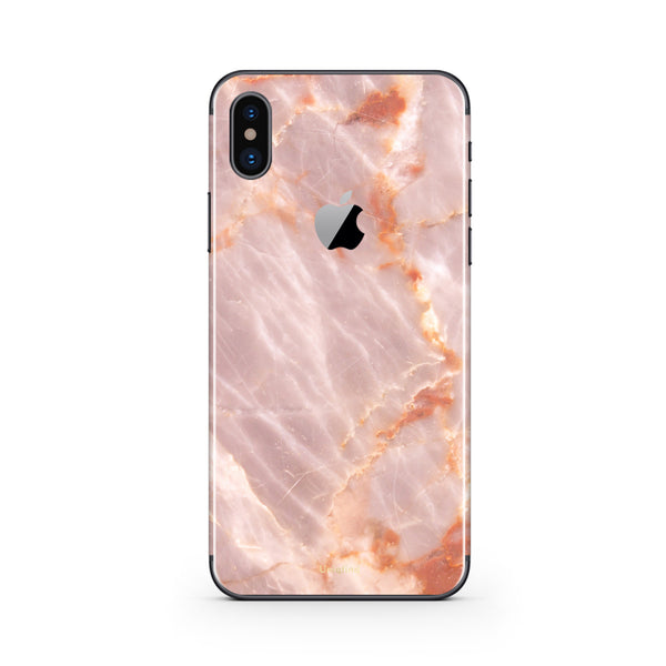 iPhone X Blush Marble