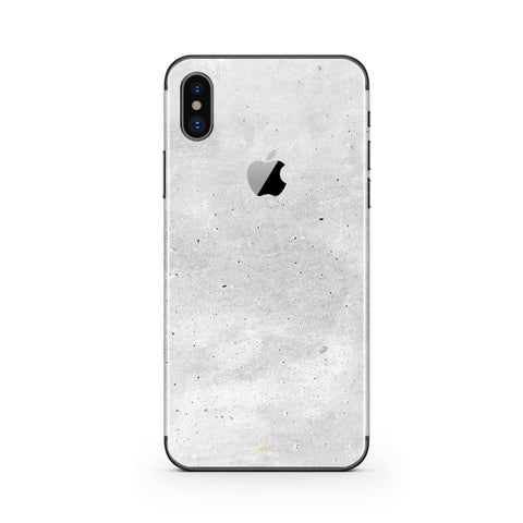iPhone X Skin in Concrete