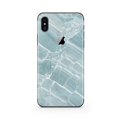 iPhone X in Mint Marble