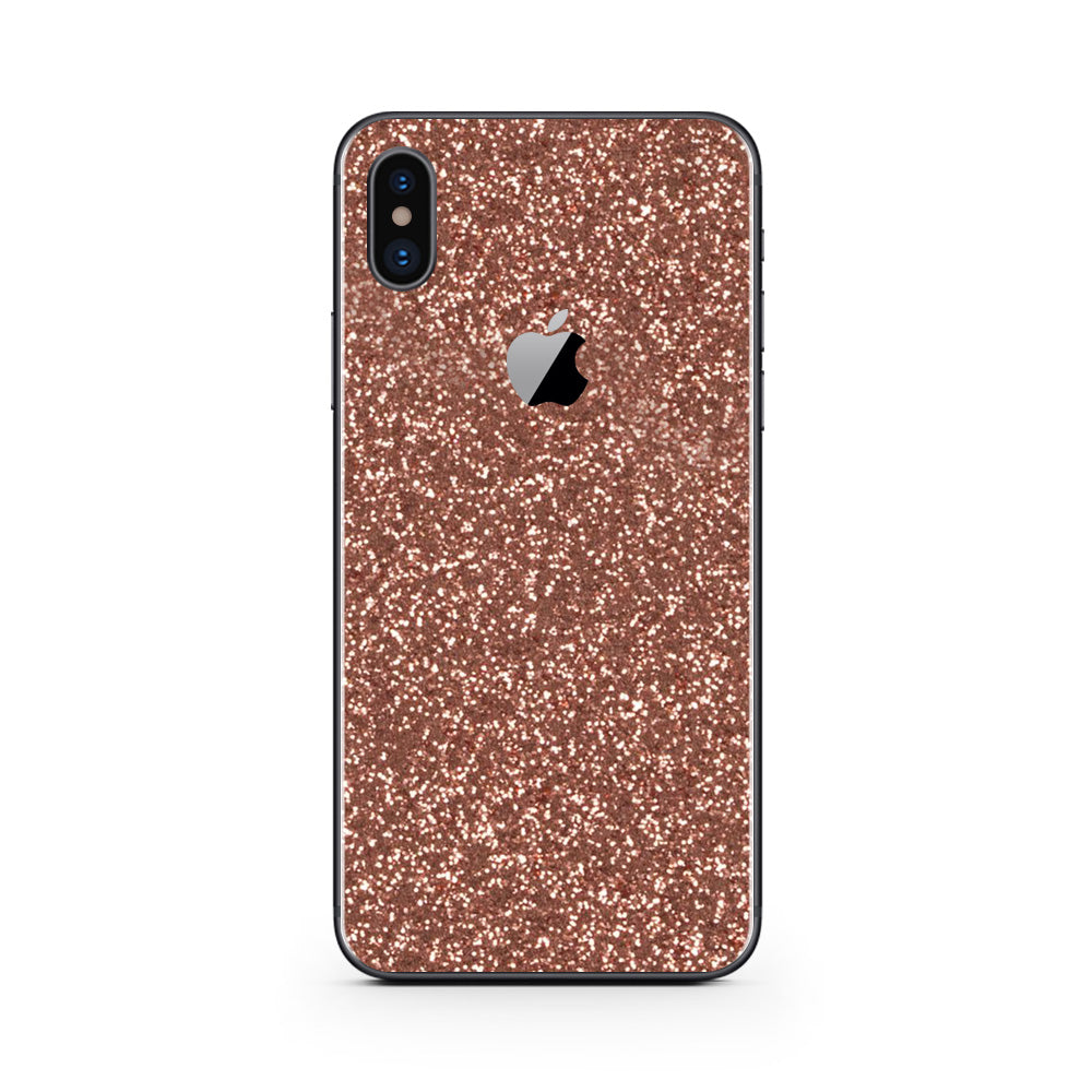 bc6bedfba4 Rosé Glitter iPhone Skin + Case | Uniqfind