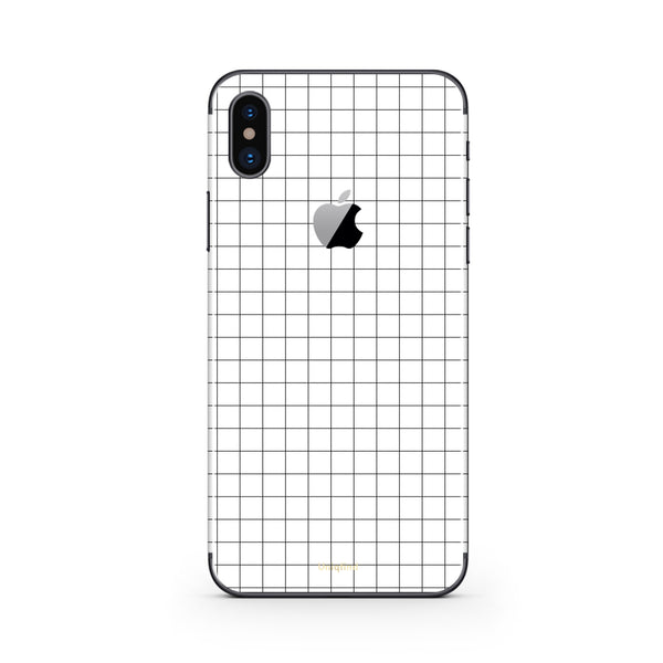 iPhone X Case and Skin Grid