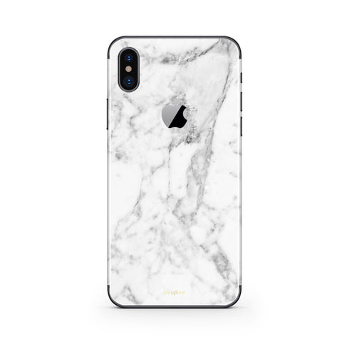 Marble iPhone X Case and Skin