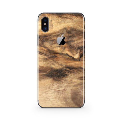 iPhone X Wood Case and Skin