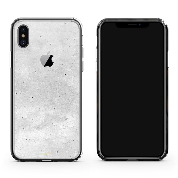 iPhone X case in concrete