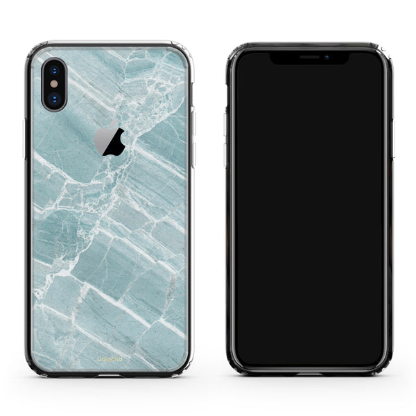 Marble Mint iPhone X Case