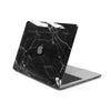 MacBook Case for 13-inch Pro Retina in Black Hyper Marble
