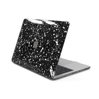 MacBook Case for 13-inch Pro Without Touch Bar in Black Speckle