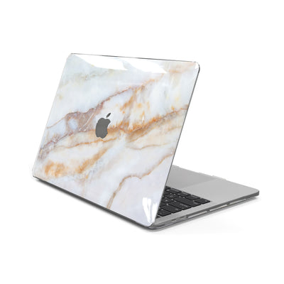 MacBook Case for 13-inch Air 2020 M1 in Vanilla Marble