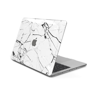 MacBook Case for 13-inch Pro 2016 2017 2018 2019 in White Hyper Marble