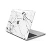MacBook Case for 15-inch Pro Touch Bar in White Hyper Marble