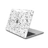 MacBook Case for 13-inch Pro 2016 2017 2018 2019 in White Speckle