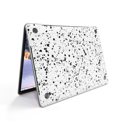 MacBook Case for A1706 A1989 A2159 in White Speckle