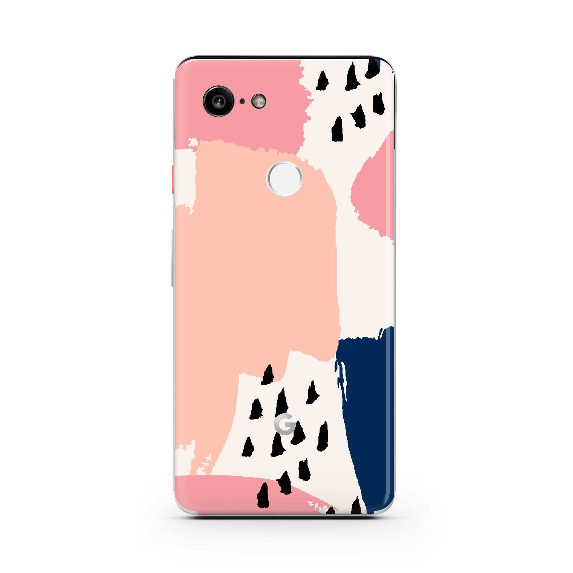 Miami Vice Pixel 3a XL Skin + Case
