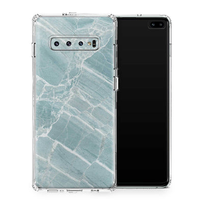 Mint Marble Case Galaxy S10 and S10+ and S10e