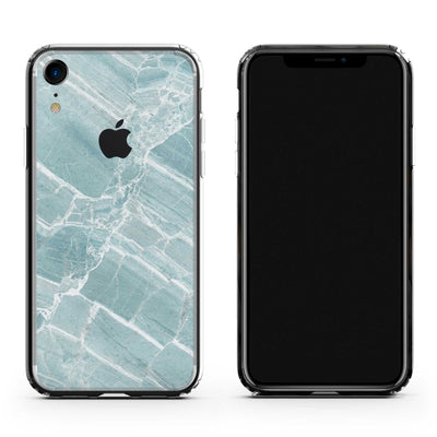 iPhone XR Mint Marble Case