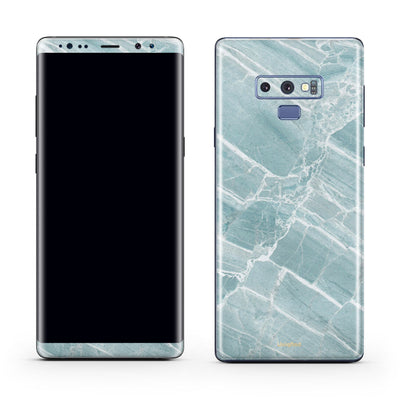 Mint Marble Samsung Galaxy Note 9 Wraps