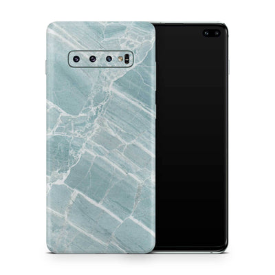 Mint Marble Skin Samsung S10 and S10 Plus and S10e