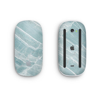 Mint Marble Magic Mouse 2 Skin