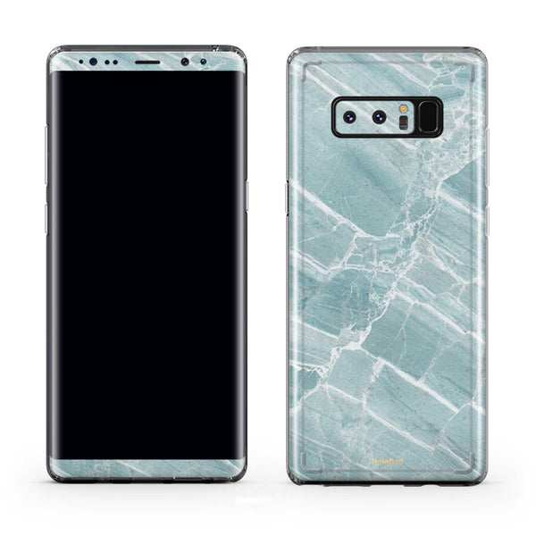 Mint Marble Galaxy Skin + Case