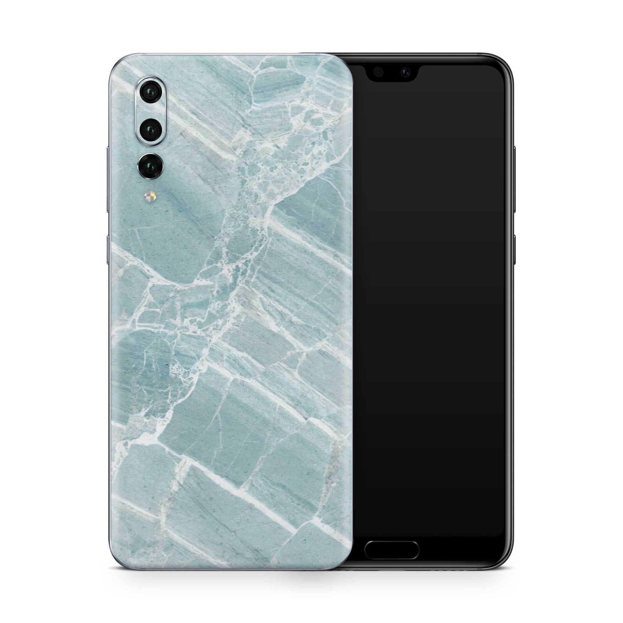 Mint Marble Skin Huawei P20 Pro and P30 Pro