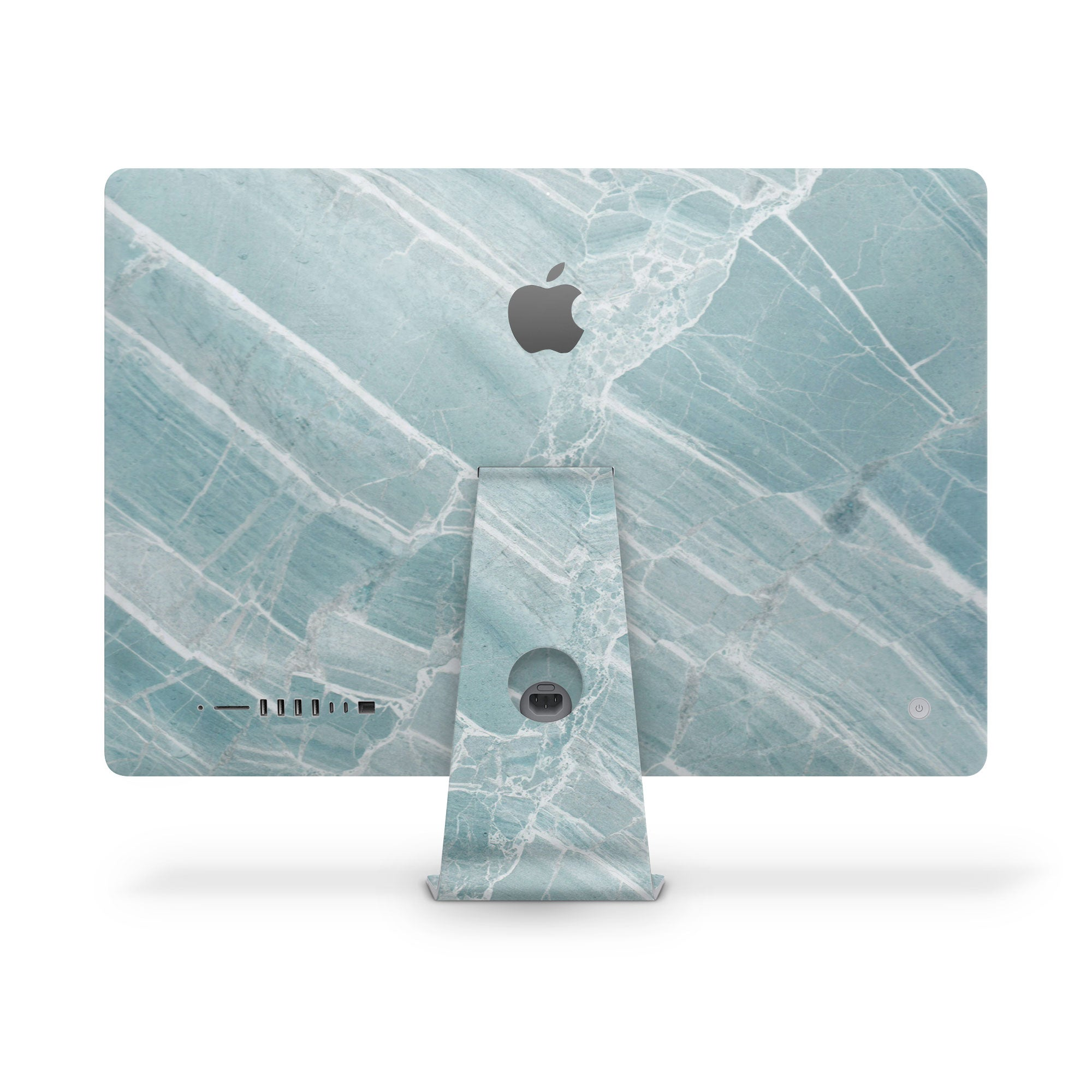 iMac Cover Mint Marble