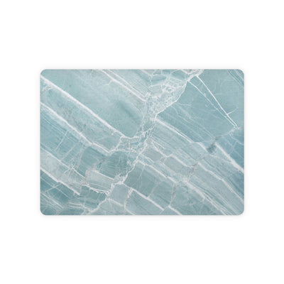 Mint Marble Magic Trackpad 2 Top and Bottom Skin