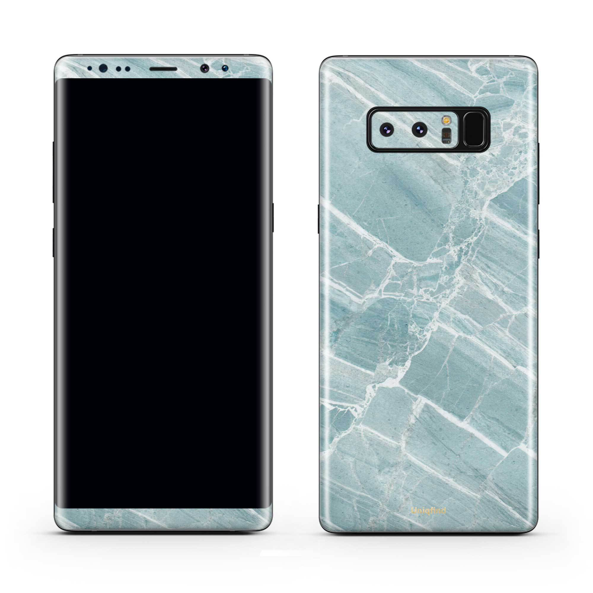 Mint Marble Galaxy Note 8 Skin + Case