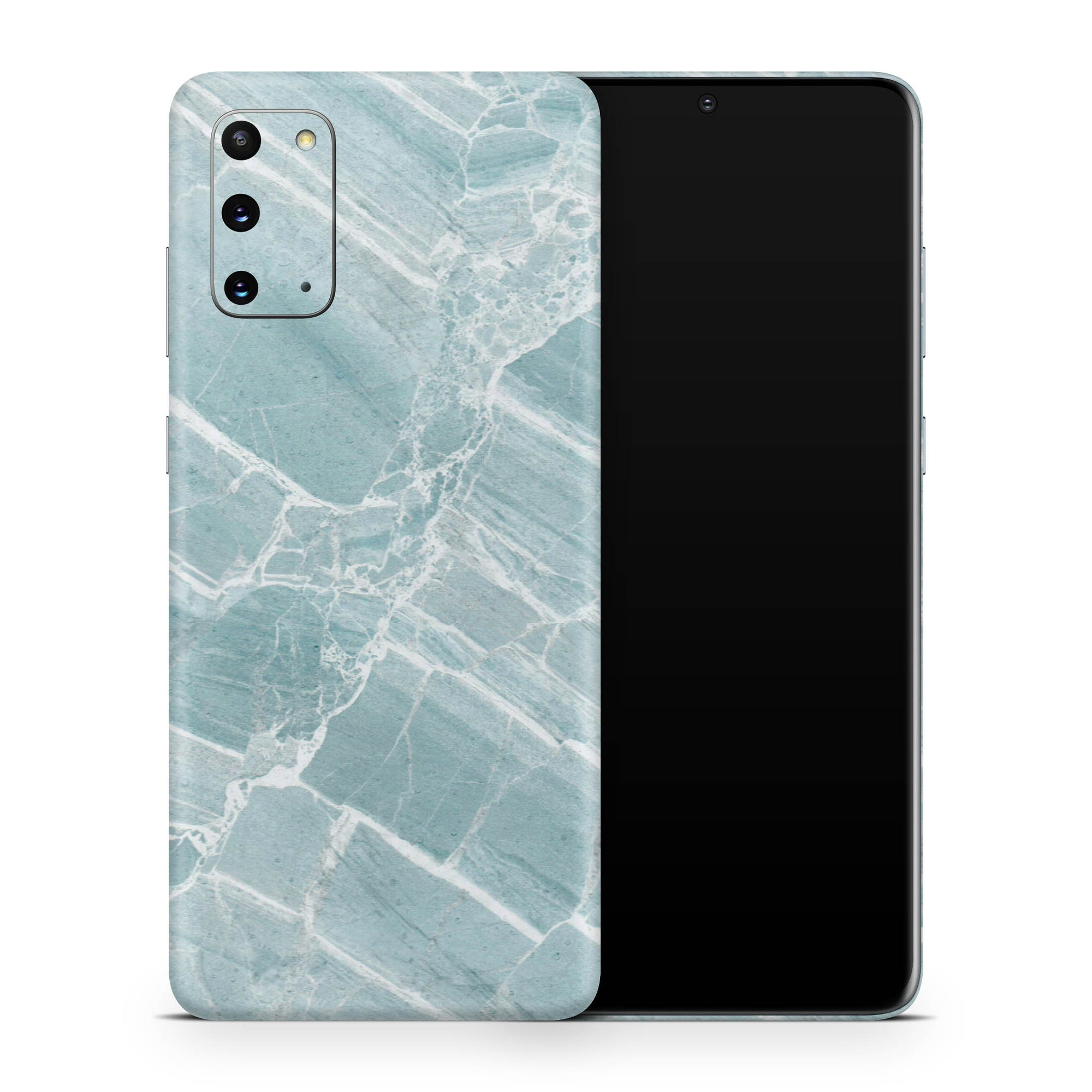Mint Marble Galaxy S20 Skin + Case-Uniqfind