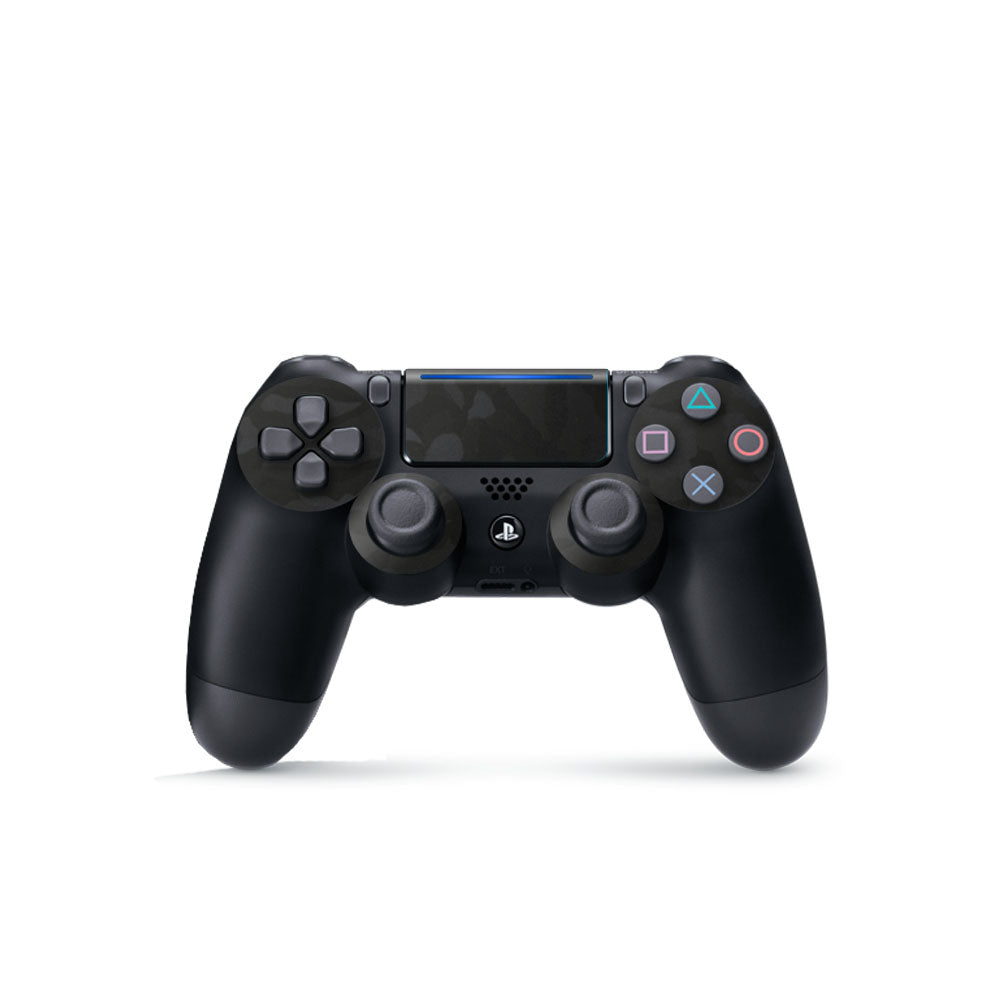 Black Camo Playstation 4 Controller Skin