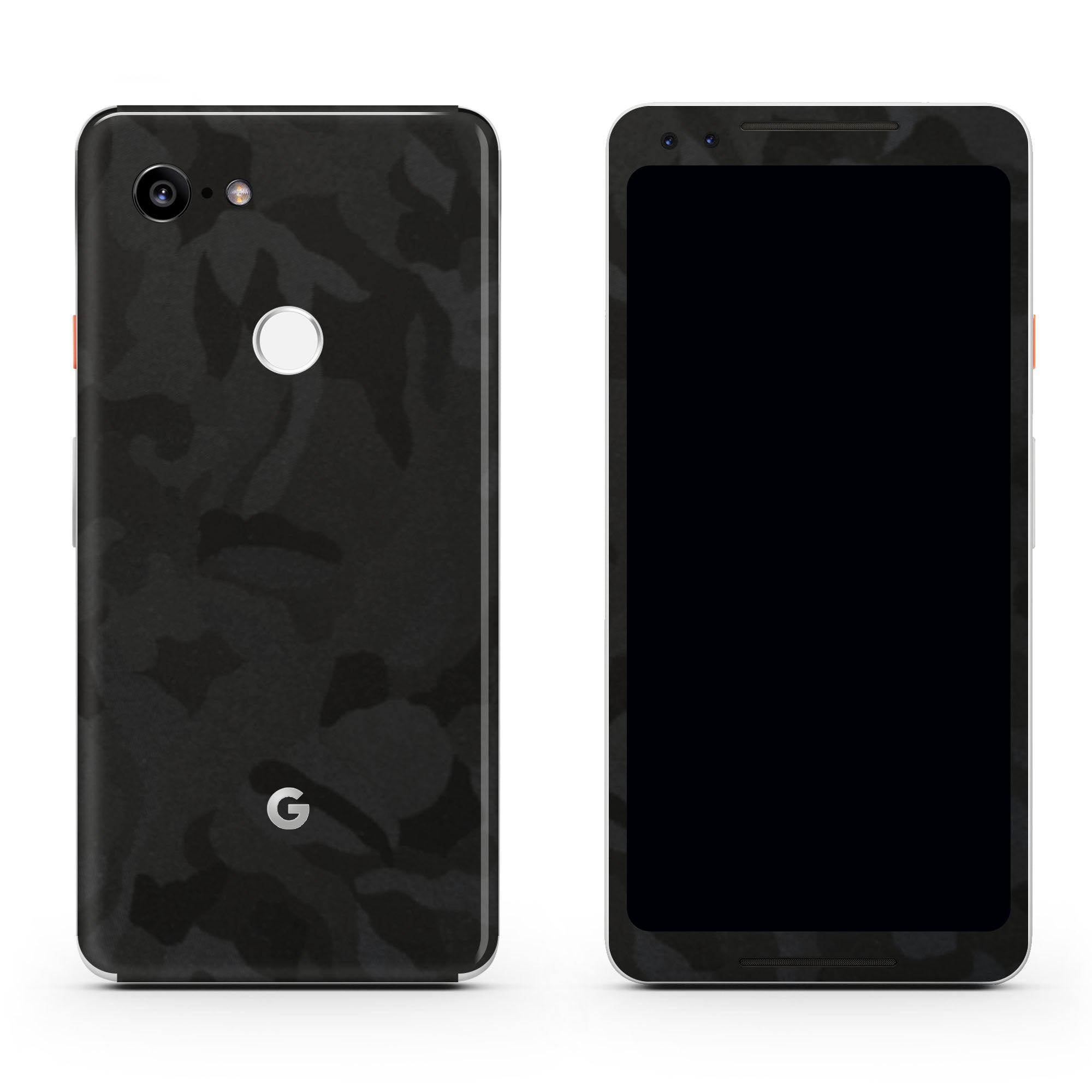 Black Camo Pixel 3a XL Skin + Case