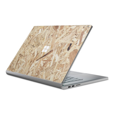 Plywood Surface Book Cover