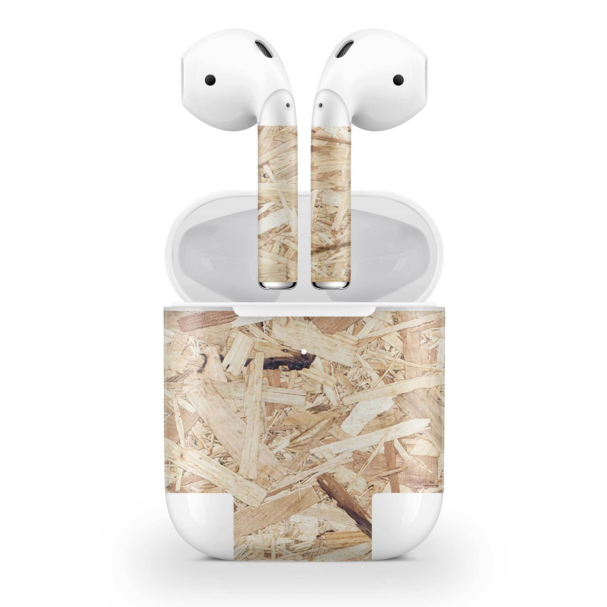 Plywood Skin AirPods Wireless Charging Case