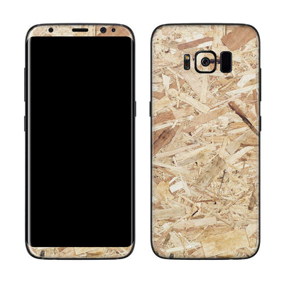 Plywood Galaxy S8 Skin + Case